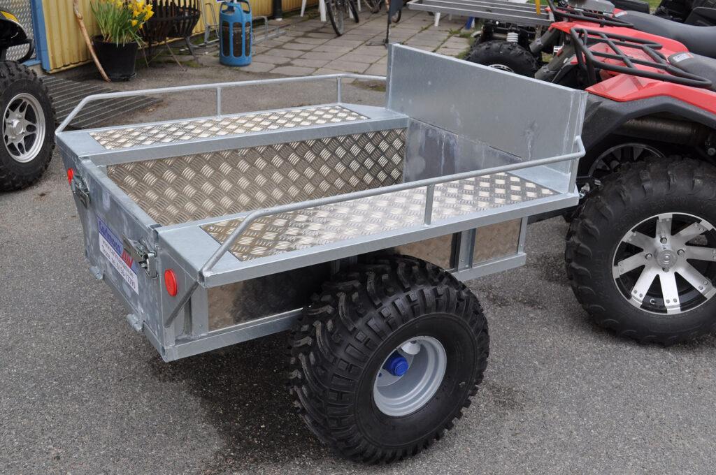 Flakvagn med alu